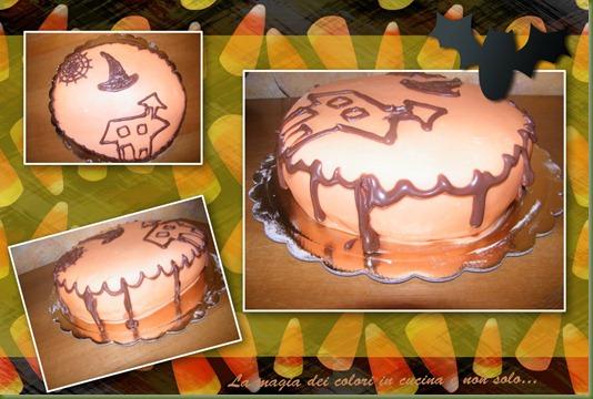 torta halloween vari angoli