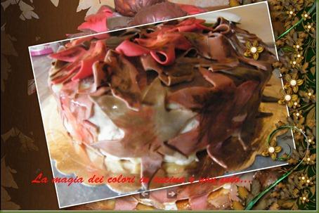 torta autunnale foglie