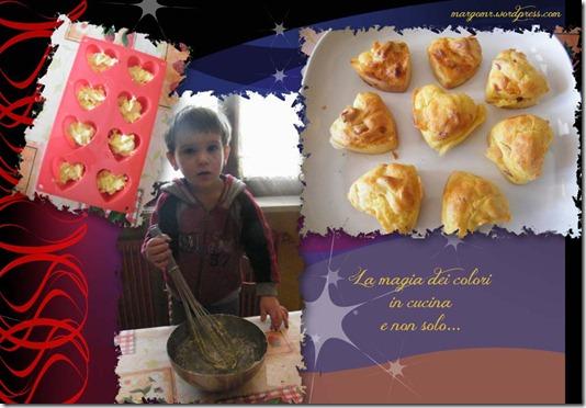muffin wurstel formaggio