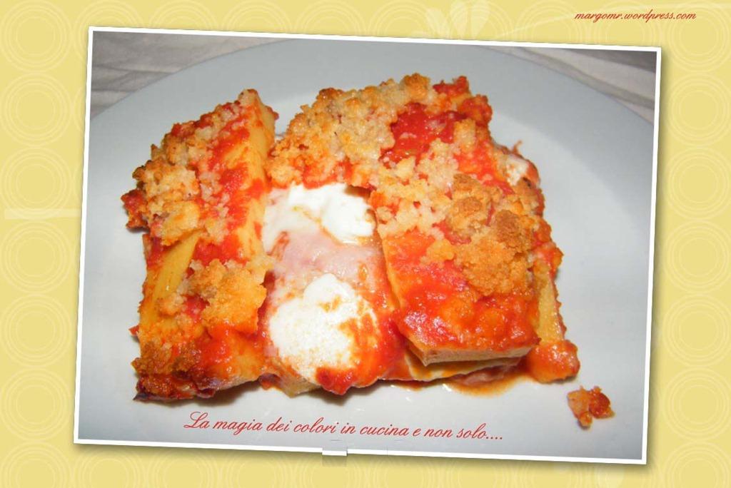 Polenta pasticciata | La magia dei colori in cucina e non solo.....