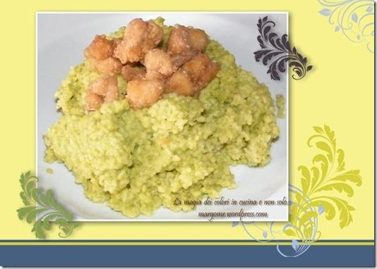 couscous con petto di pollo alla salsa di soia