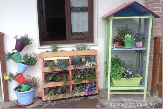 Giardino verticale e fioriera voliera la magia dei - Giardino verticale in casa ...