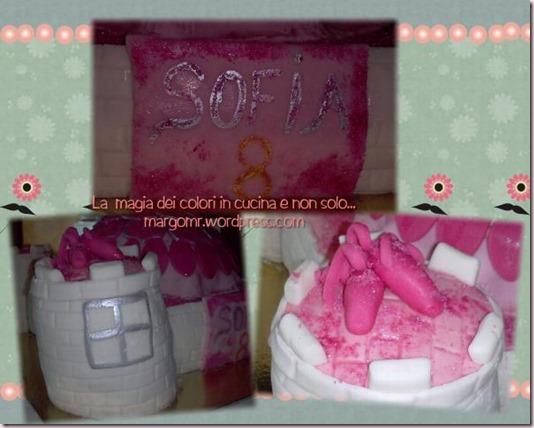 dettagli torta scarpette rosa
