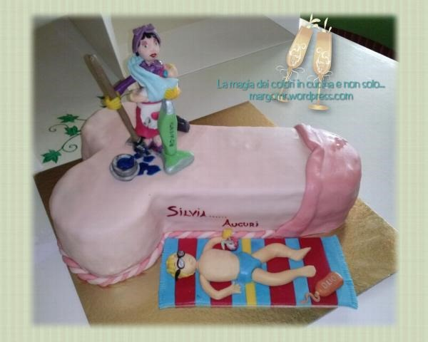 torta a forma di pene | Dulcisss in forno by Leyla