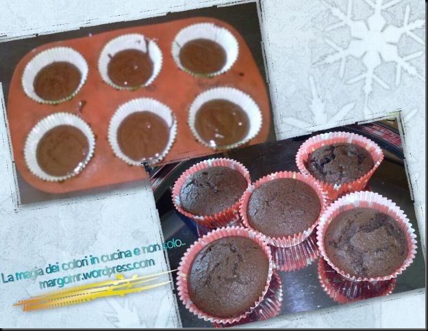 cupcake cioccolato preparazione