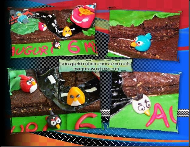 torta cars mattia furlan angry birds dettaglio angry birds