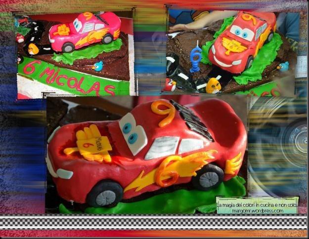torta cars mattia furlan angry birds dettaglio cars saetta mcqueen1