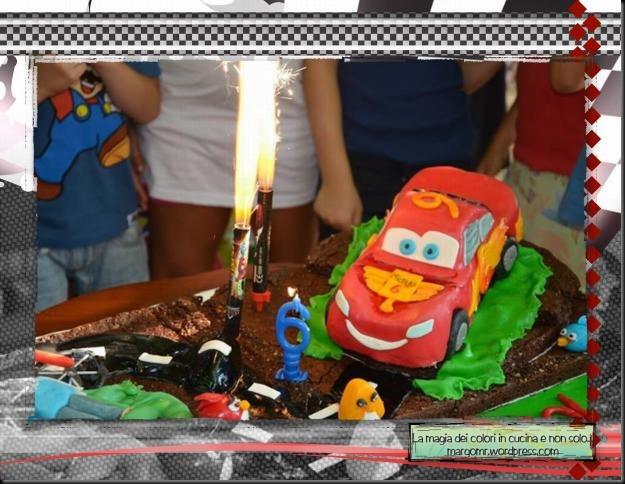 torta cars mattia furlan angry birds dettaglio cars saetta mcqueen