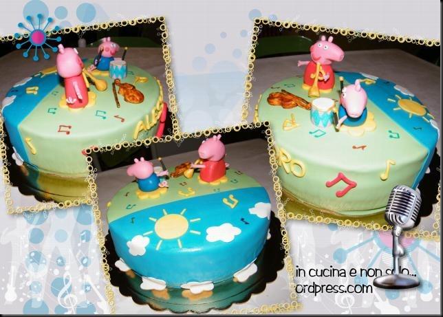 torta peppa pig musicale 2