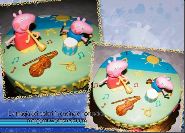 torta peppa pig musicale 4