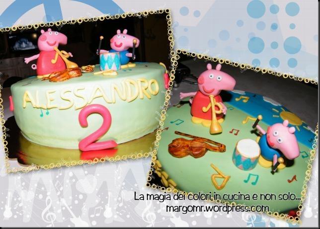 torta peppa pig musicale 6