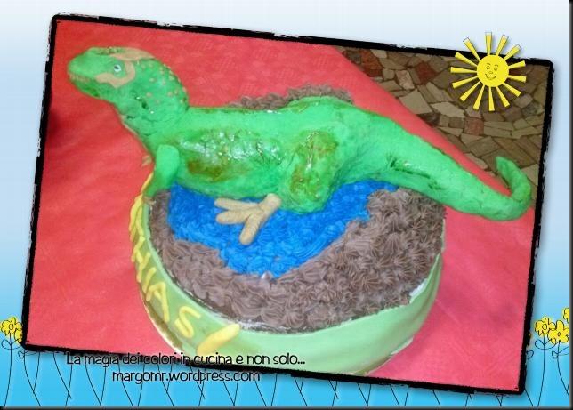torta trex pasta di zucchero 4