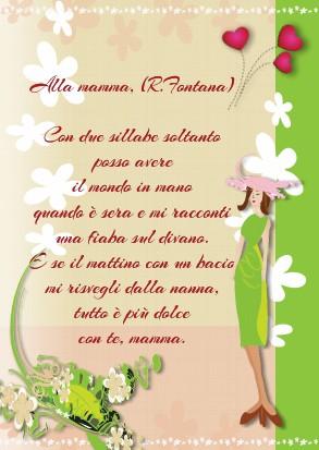 poesia mamma