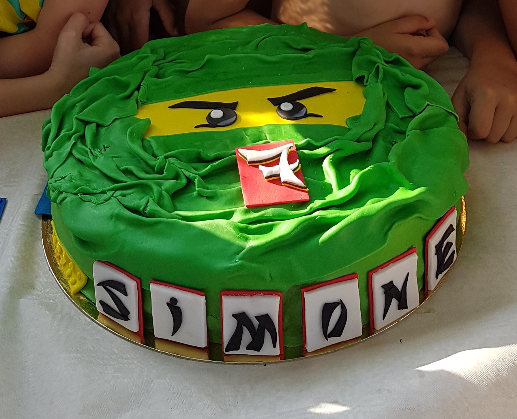 Lamagiadeicoloriincucinaenonsolo la magia dei colori in for Decorazioni torte ninjago